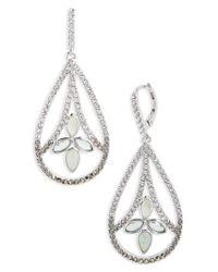 Judith Jack - Metallic Lakeside Crystal Drop Earrings - Lyst
