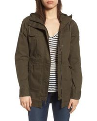 The North Face - Green Utility Jacket - Lyst