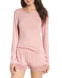 Honeydew Intimates - Pink Sheer Luck Pajamas - Lyst