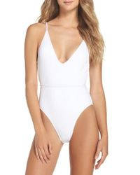 Minimale Animale | White Daiquiri One-piece Swimsuit | Lyst