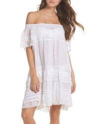 Muche Et Muchette - White Esmerelda Cover-up Dress - Lyst