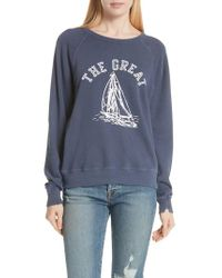 The Great Pink The College Sweatshirt
