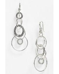 Ippolita | Metallic 'jet Set' Drop Earrings - Sterling Silver | Lyst