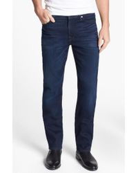 7 For All Mankind - Blue 7 For All Mankind 'slimmy - Luxe Performance' Slim Fit Jeans for Men - Lyst