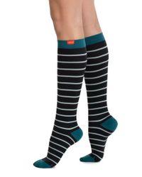 VIM & VIGR - Multicolor Nautical Stripe Graduated Compression Trouser Socks - Lyst