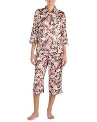 Kate Spade - Pink Capri Pajamas - Lyst