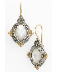 Konstantino - Metallic 'selene' Drop Earrings - Lyst