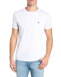 Lacoste Black Sport Cotton T-shirt for men