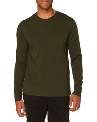 Threads For Thought - Green Threads For Thought Pocket Crew T-shirt for Men - Lyst
