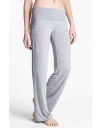 Calvin Klein Gray 'essentials' Roll Waist Pants