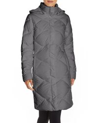 The North Face | Gray 'miss Metro' Hooded Parka | Lyst