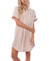 Rhythm Pink Seychelles Cover-up Dress