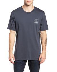 Travis Mathew - Blue Send It Graphic T-shirt for Men - Lyst