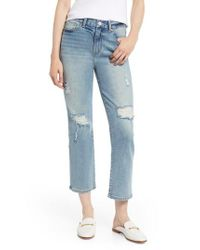 Habitual Blue Haven High Waist Straight Leg Jeans