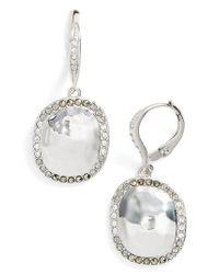 Judith Jack - Metallic Semiprecious Stone Drop Earrings - Lyst