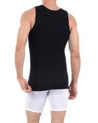 Tommy John Black Second Skin Tank Undershirt for men