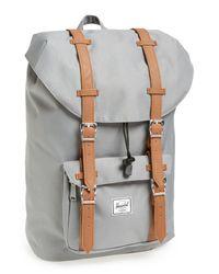 Herschel Supply Co. Gray 'little America - Mid Volume' Backpack for men