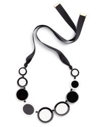 Kate Spade - Multicolor Connect The Dots Statement Necklace - Lyst