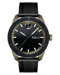 Movado - Black Bold Sport Silicone Strap Watch for Men - Lyst