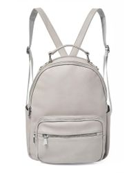 Urban Originals - Gray On My Own Vegan Leather Backpack - Lyst