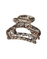 France Luxe - Metallic Cutout Jaw Clip - Lyst