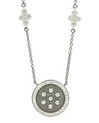 Freida Rothman - Metallic Pendant Necklace - Lyst
