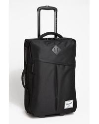 Herschel Supply Co. - Black 'new Campaign' Rolling Suitcase for Men - Lyst