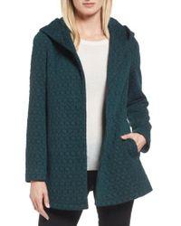 Gallery - Multicolor Cozy Knit Coat - Lyst
