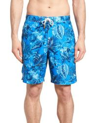 Tommy Bahama Blue Baja Selva Shores Board Shorts for men