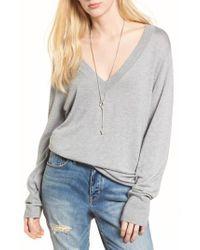 Treasure & Bond - White Slouchy Sweater - Lyst