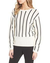 Trouvé - Black Vertical Stripe Sweater - Lyst