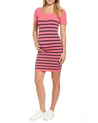 Tees by Tina - Blue Nautical Maternity Dress - Lyst