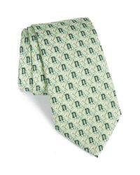 Vineyard Vines | Dartmouth Big Green Silk Tie for Men | Lyst