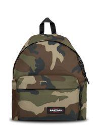 Eastpak Green Padded Pak'r Nylon Backpack