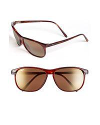 Maui Jim Gray 'voyager - Polarizedplus2' 60mm Sunglasses - for men