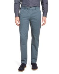 45894d41c Lyst - Ted Baker Procor Slim Fit Chino Pants in Blue for Men