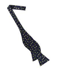 Ted Baker - Green Ombré Flower Silk Bow Tie for Men - Lyst