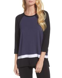 DKNY | Blue Sleep Shirt | Lyst