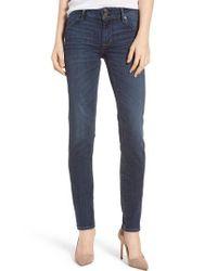 Hudson - Blue Collin Skinny Jeans - Lyst