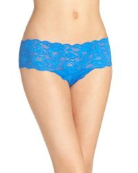 Cosabella - Blue 'never Say Never' Hipster Briefs - Lyst