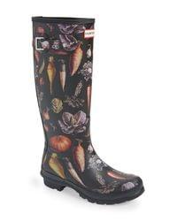 Hunter Black Original Tall Rain Boot