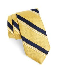 Nordstrom Metallic Stripe Silk Tie for men