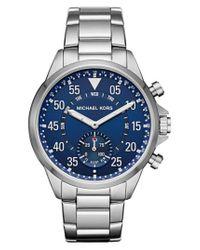 Michael Kors - Blue Michael Kors Gage Bracelet Smart Watch for Men - Lyst