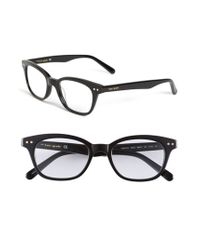 Kate Spade | Black Rebecca 49mm Reading Glasses | Lyst