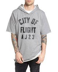 Nike - Gray Sportswear City Of Flight Hooded T-shirt for Men - Lyst