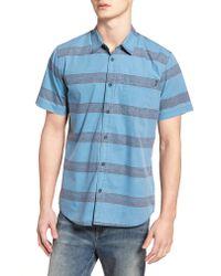 O'neill Sportswear Blue Wagner Woven Shirt for men