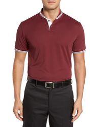 Bobby Jones - Red Bravo Collar Pique Polo for Men - Lyst