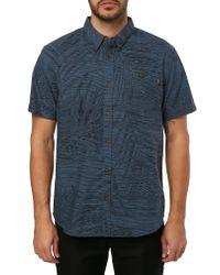 O'neill Sportswear - Blue Fronzarelli Woven Shirt for Men - Lyst