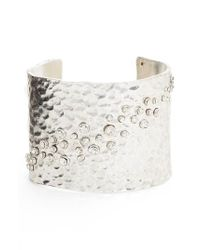 Karine Sultan - Metallic Lou Embellished Cuff - Lyst