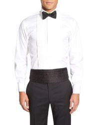 Robert Talbott - Black 'protocol' Paisley Silk Cummerbund & Bow Tie Set for Men - Lyst